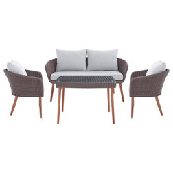 Midcentury Outdoor Lounge Sets by Bolton Furniture, Inc.