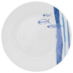 Coastal Dinner Plates by Batela UK