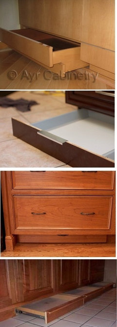 Considering A Toekick Drawer For A Step Stool Y Or N