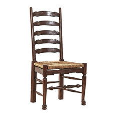 English Country Ladderback Side Chair, Set of 2