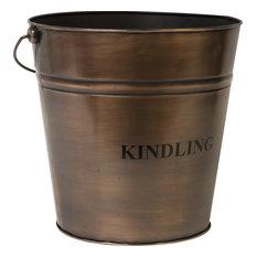"""Kindling"" Firewood Storage Bucket"