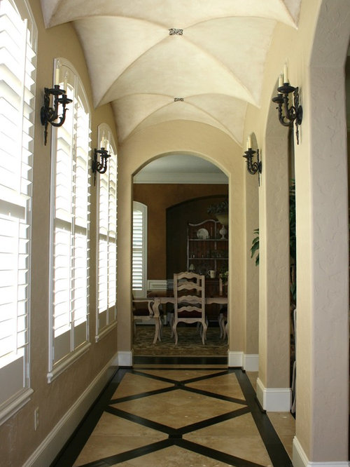 Vaulted ceiling foyer ideas, pictures, remodel and decor