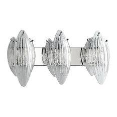Arista Chrome Vanity Light, 3-Light