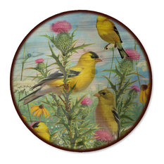 "Lazy Susan, Golden Glories, 18"" Diameter"