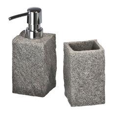 Granite 2-Piece Bathroom Accessories Set