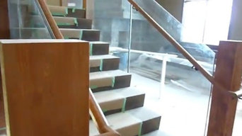 Grand  Entrance Stair Case - Mica Heli Skiing Lodge BC