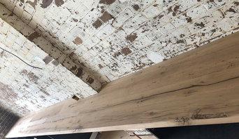 Warehouse Design - Custom Joinery using Reclaimed French Oak