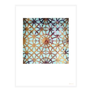 """More Hidden Treasures"" Geometric Art Print, Print Only, 30x40 cm"