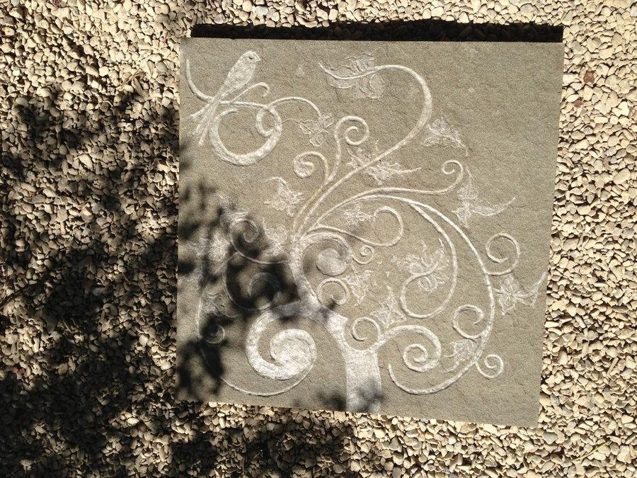 """Tree of Life"" Memorial stone"