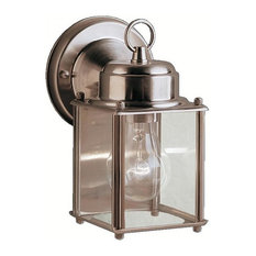 Outdoor Wall 1-Light, Stainless Steel