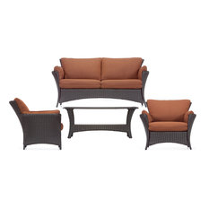 hanover strathmere allure 4 piece lounging set outdoor lounge sets allure furniture