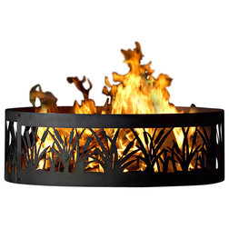 Contemporary Fire Pits by P&D Metal Works, Inc.