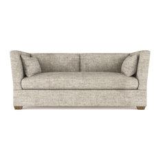 Rivington 7' Crushed Velvet Sofa Oyster Extra Deep