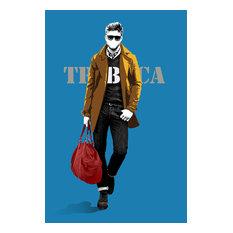 Male City Fashion, Acrylic Print