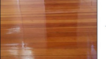 Hardwood floor installation and refinishing