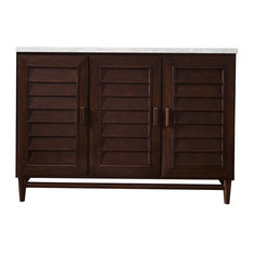 Portland 48-inch Vanity Burnished Mahogany Without Top