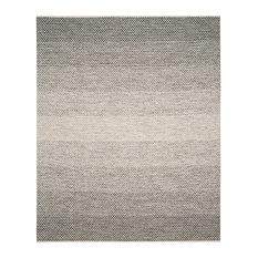 Safavieh Montauk Flatweave Rug, Black/Ivory, 8'x10'