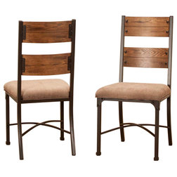 Industrial Dining Chairs by Sunset Trading
