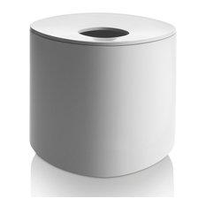 - Birillo Kleenexbox, Hvid - Holder til lommetørklæder