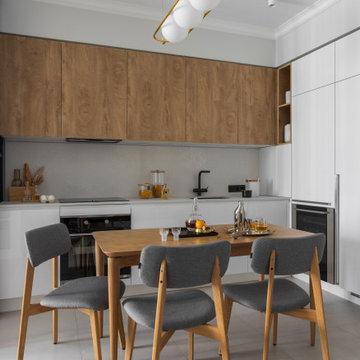 ФОТО/Уютная светлая квартира 76 м² для молодой семьи с ребенком
