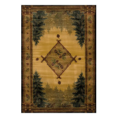 """Forest Trail Lodge Rug, 5'3""""x3'11"""""""