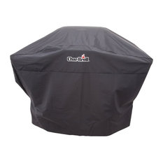 """Char-Broil - Char-Broil Polyester Grill Cover, Black, 52"""" - Grill Tools & Accessories"""