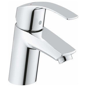Single Lever Basin Tap for Low and High Pressure, Chrome Plated, Without Waste