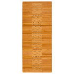 """Anji Mountain - Bamboo Kitchen and Bath Mat 20""""x48"""" - Bamboo mats have been a traditional floor covering in the Far East for centuries. They add a touch of organic, practical elegance to any space.  Our Bamboo Kitchen & Bath Mat is made of the finest quality, sustainably harvested bamboo in the world for supreme durability.  It's intricate design and glossy finish make it an especially appealing option to use in front of a bathroom or kitchen sink."""