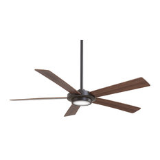 "Minka Aire - Minka Aire Sabot Ceiling Fan, Oil Rubbed Bronze, 52"" - Ceiling Fans"