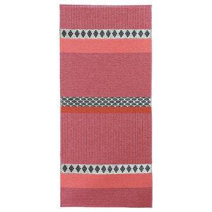 Savanne Woven Floor Cloth, Pink, 70x200 cm