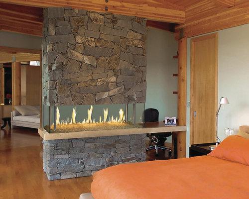 DaVinci by Travis Industries - DaVinci Island - Indoor Fireplaces