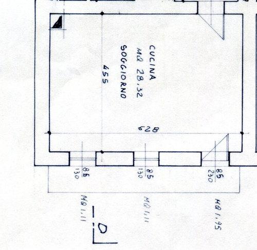 Disposizione cucina soggiorno open space for Disposizione soggiorno