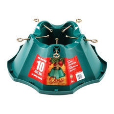 """Jack Post Corp - Green Tree Stand, 21.65"""" - Christmas Tree Stands and Care"""