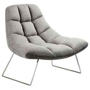 Prime Down Low Swivel Chair Gray Transitional Armchairs And Evergreenethics Interior Chair Design Evergreenethicsorg