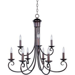 Ideal Traditional Chandeliers by Designer Lighting and Fan