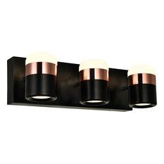 Moxie Led Vanity Light - Black