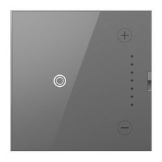 Adorne Touch Wi-Fi Ready Master Dimmer, 700W, Tru-Universal, Magnesium