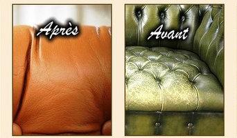 Restauration de canapés en cuir