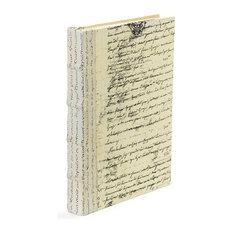 Single Ivory Script Book