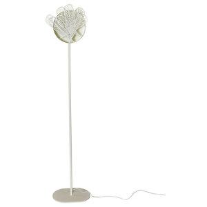 Plum Drimm Floor Lamp, White