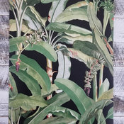 Tropical Banana Leaf Wallpaper, Single Roll