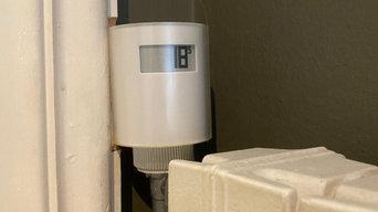 Instalación de válvulas domóticas para calefacción