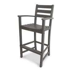 Trex Outdoor Furniture Monterey Bay Bar Arm Chair, Stepping Stone