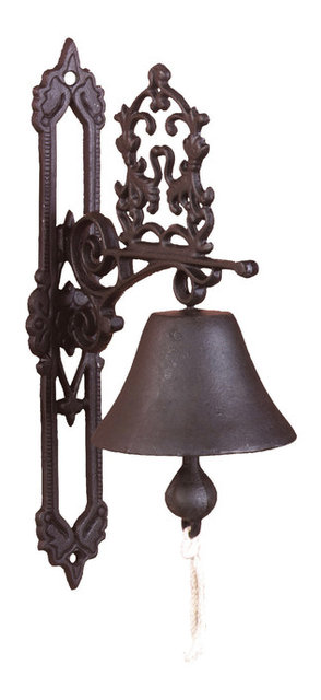 Doorbell Classic Antique Brown Traditional Doorbells And Chimes By Parpadi