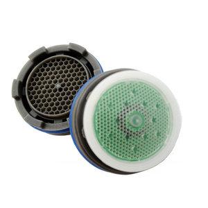 Chrome PF WaterWorks PF0565 MasterFIT Sense Listed Water Saving Bath Aerator-1.0 GPM-Bubble Spray
