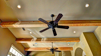 The Olde Mill Reclaimed Box Beams