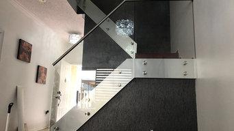 Standoff glass system