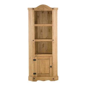 Vida Designs Corona Corner Bookcase