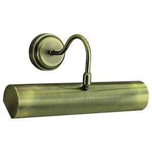 Picture Light Switched With Low Energy T5 Tube,  Antique Brass