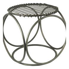 Zia Chair, Antique Zinc